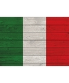 Horizontale vlag poster Italy 84 cm